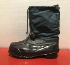 Trax Steel Shank Vintage Snowmobile Boots Size 11 Snow Water Proof Insulated