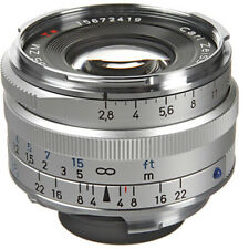 New Carl ZEISS C Biogon T * 35mm f2.8 ZM Mount Lens SILVER Made in Japan