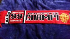 man utd 99 champions scarf