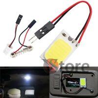 Lampada LED T10 Siluro Pannello BIANCO Interno Auto Luci Cortesia Cob 18 Chip