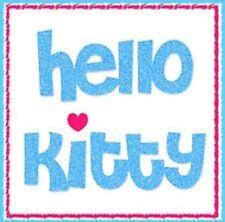 NEW Hello Kitty Sanrio Blocky Heart Sizzix Die Medium Sizzlits DieCut Scrapbook