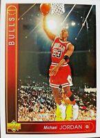1993 UPPER DECK MICHAEL JORDAN NBA BULLS #23 BASKETBALL CARD