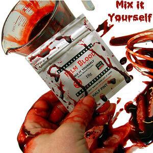 Fake Blood, Makes over Half a Pint, DIY powder by FILMBLOOD