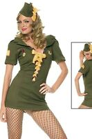 NEW WOMENS LADIES MILITARY ARMY SOLDIER CAMO HEN DOO FANCY DRESS PARTY OUTFIT
