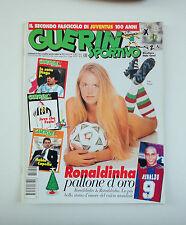 GUERIN SPORTIVO 1996- n. 51 - RONALDINHA PALLONE D'ORO