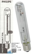 PHILIPS MASTER SON-T PIA Plus 600W FLORACION Grow Bombilla Lampara HPS SHP SODIO