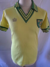 Norwich City 1976-1981 Home Football Shirt Size Small