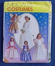 McCall's Sewing Pattern P 314 UNCUT STORYBOOK COSTUMES PRINCESS