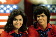 Donnie & Marie Osmond Rare 1970'S Tv Show 8X12 Photo
