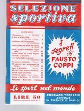 SELEZIONE SPORTIVA, N. 1, Tedeschi 1949
