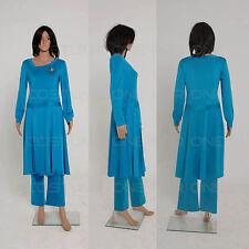Star Trek Deanna Troi Cosplay Dress halloween costumes for women  Custom Made