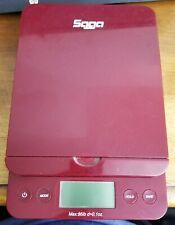 Saga Postal Scale Uses 2 Aa Batteriesor 6v Ac For Parts Or Repair