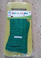 Kids Children Gardening Gloves & Kneeler Kneeling Pad Garden Activity Play Set