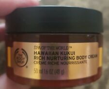 The Body Shop Spa of The World Hawaiian Kukui Body Cream 1.6 oz.