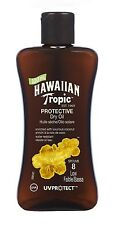 Hawaiian Tropic Mini Protective Dry Sun Tan Oil SPF 8 100ml