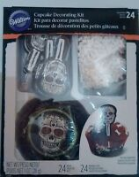 Halloween Cupcake Decorating Kit Skeleton from Wilton #415-9974 new box muerte