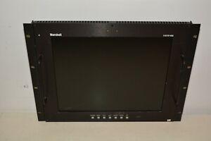 "Marshall Electronics V-R171P-HDA 17"" LCD Monitor Rack Mount Panel w/HDA Input."