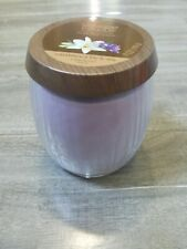 Yankee Candle Pure Radiance Small Jar 7oz Crackling CASABLANCA LILY & IRIS
