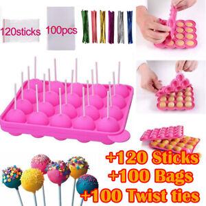 Cake Pop Backform Silikon Cakepop Kuchenlollis Kuchen Lollies Lollis mit Stiele