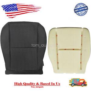For 07-14 Chevy Silverado 1500 Driver Side Bottom Cloth Seat Cover+Foam Cushion