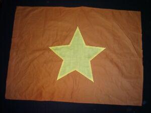 Vietnam War VC NVA North Vietnamese Army Battle Flag Vintage
