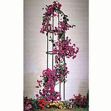 Rankhilfe Ranksäule aus Metall freistehend Garten Deko Pflanzen Gestell Obelisk