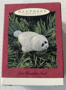 Hallmark Keepsake 1992 Lou Rankin Seal Ornament QX545-6 NEW In Box
