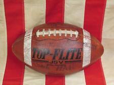 Vintage Spalding Leather J5V Game Trophy Football Laces Cv vs. Mechanicsburg Pa.