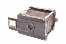 Block-Notes folding camera by Gaumont with Tessar Zeiss f/6.3-72mm lens. 4,5x6cm