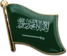Saudi Arabia Country Flag Bike Motorcycle Hat Cap lapel Pin