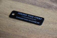 LOST & FOUND LOCATION HOMING BEACON ID SUITCASE PENDANT TRACKING FUND ROBBERY