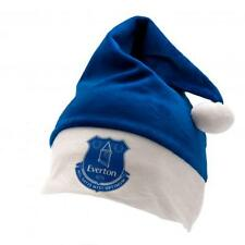 Everton Santa Hat Supersoft Gift Fan Xmas New Official Licensed Football Product