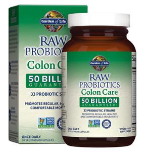 Garden of Life Raw Probiotics, Colon Care, 30 Veggie Caps, 1 Units Best Quality