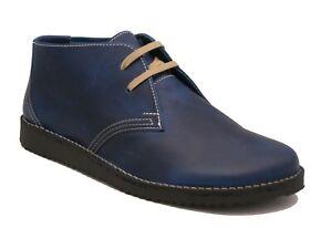 Oxygen Stitch Down Desert Boot Bombay Blue sizes 9 - 10 ( 43 - 44) RRP £69.00