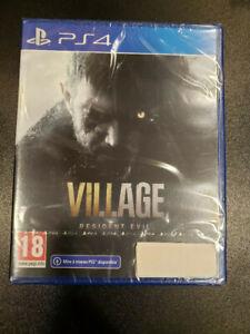 RESIDENT EVIL VILLAGE PS4 NEUF