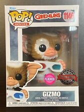 FUNKO POP GREMLINS GIZMO WITH 3D GLASSES FLOCKED #1146 SPECIAL EDITION EXCLUSIVE