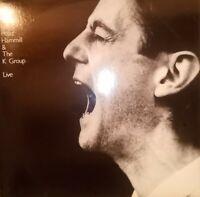 DOPPIO VINILE LP PETER HAMMILL & THE K GROUP - THE MARGIN LIVE 33 GIRI 1985 UK