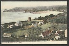 Postcard Jersey Channel Islands early view of St Brelades Bay by JWS 407