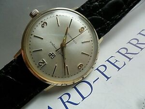 Original 1960's Vintage Men's Girard Perregaux Gyromatic Swiss Automatic Watch