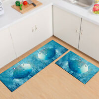 Creative Anti-Slip Kitchen Mat Hall Door Large Runners Small Rug Carpet Washable