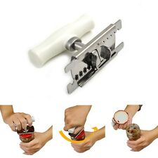 Adjustable Professional Stainless Steel Can Bottle Opener Jar Lid Wrench Remover