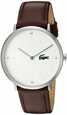 Lacoste Original 2010872 Men's Brown Leather Watch 40mm