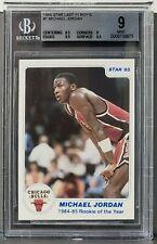 1985 Michael Jordan Star #1 Rookie of the year BGS 9 MINT Chicago Bulls