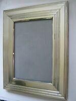 "Vintage CHRISTOFLE FRANCE Silver Photo Frame Collection Ligne de Table 7.5"" x 6"""