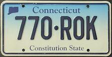 Original matrícula estados unidos Connecticut 2000 plaque d 'immatriculation Targa