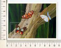 36783) Grenada Grenadines 1991 MNH Butterflies S/S