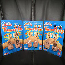 "REMCO AWA""all star THUMBSTERS""Ultra/Gem,UNpeg,Road Warrior,Flair,Zbyszko,moc"