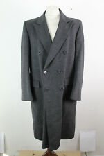 CROMBIE Double Breasted Overcoat size Reg 42