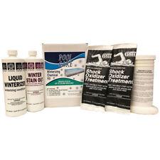 Qualco 57620 20,000 Gallon Swimming Pool Winterizing Closing Chemical Clean Kit