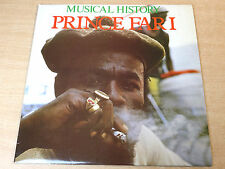 Prince Far I/Musical History/1983 Trojan LP
